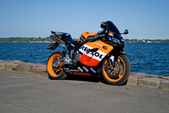 My Honda CBR 1000 RR FireBlade SC57 at the Kieler Innenfoerde